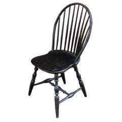 American Bow-Back Windsor Side Chair, circa 1780