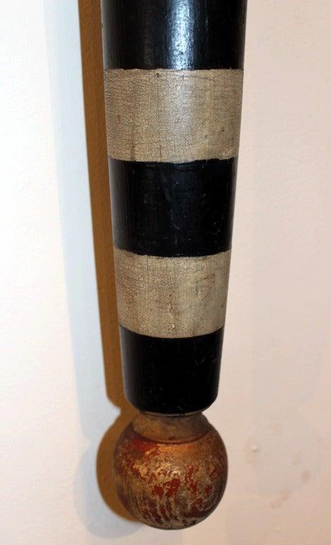 Rare Black  amp  White Barber Pole image 2Barber Pole Black And White