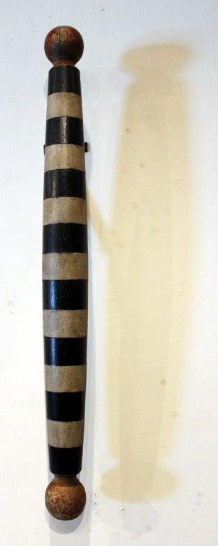 Rare Black  amp  White Barber Pole image 4Barber Pole Black And White