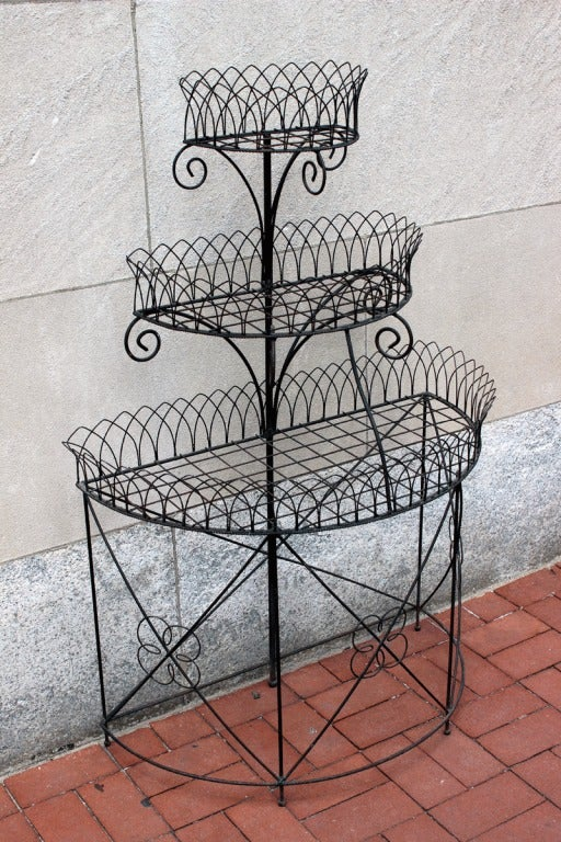 Wire Plant Stand Circa 1890 At 1stdibs