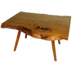 Walnut Coffee Table by George Nakashima