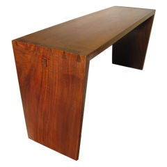 Walnut  Bench by George Nakashima