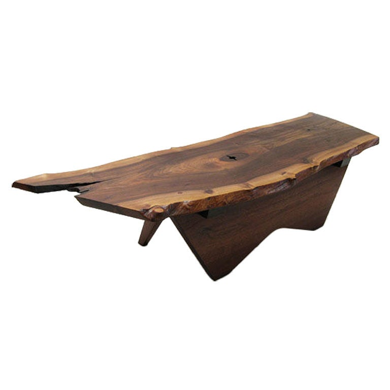 A Black Walnut Coffee Table By George Nakashima 1