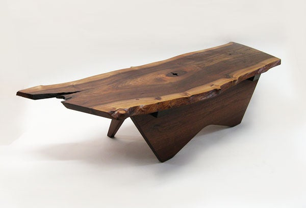 A Black Walnut Coffee Table By George Nakashima At 1stdibs