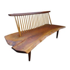 A Conoid Bench by George Nakashima