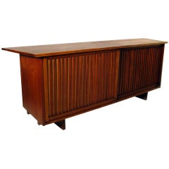 Walnut Floor Cabinet by George Nakashima