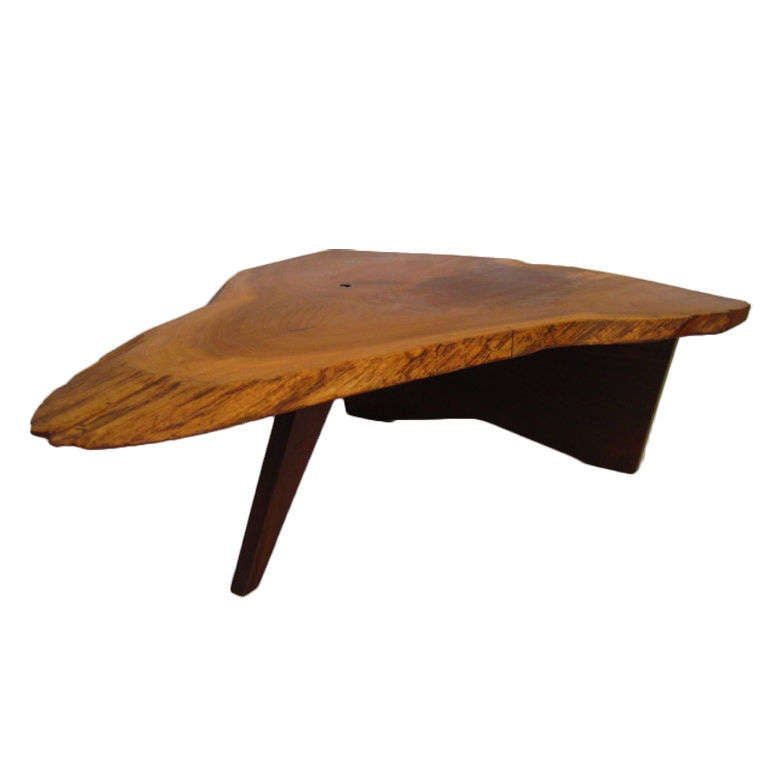 Persian Walnut Coffee Table By George Nakashima At 1stdibs
