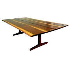 Walnut Trestle Table by George Nakashima