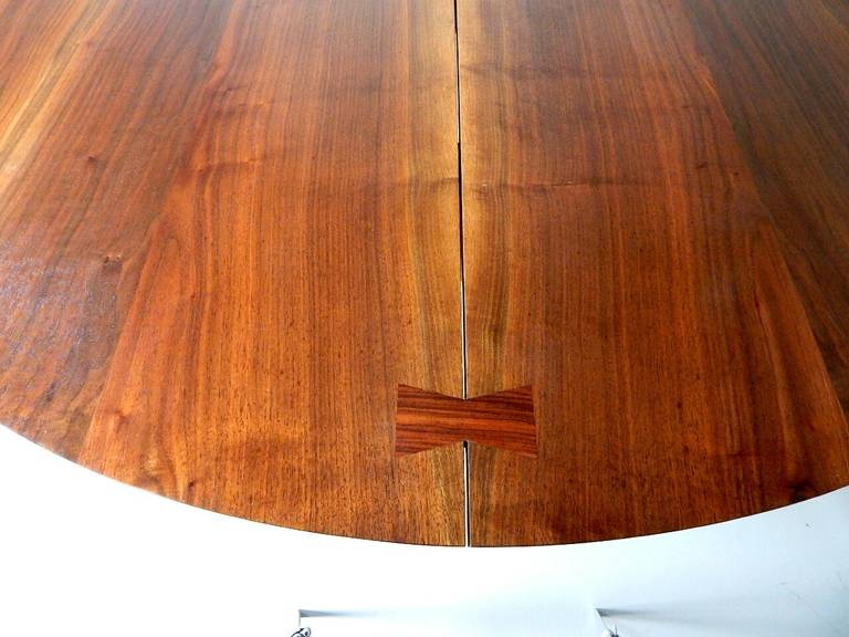 Rosewood Walnut Cluster Base Table by George Nakashima For Sale