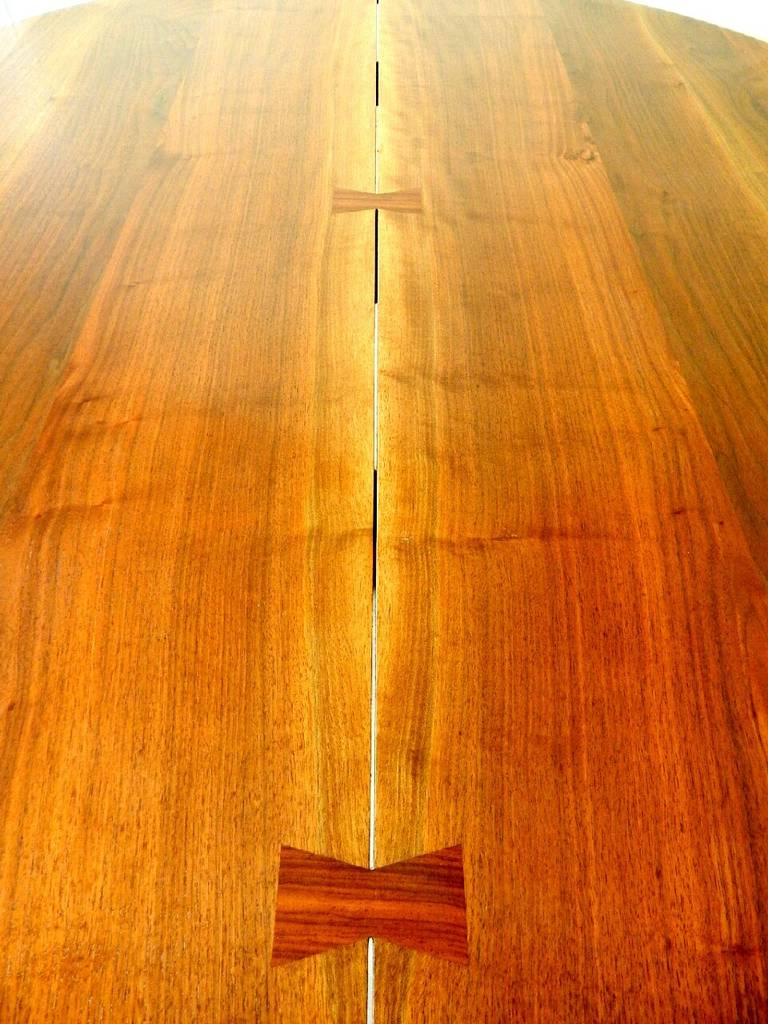Walnut Cluster Base Table by George Nakashima 5