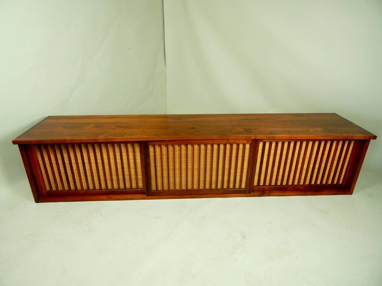 American 20th Century Walnut Wall Cabinet by George Nakashima For Sale