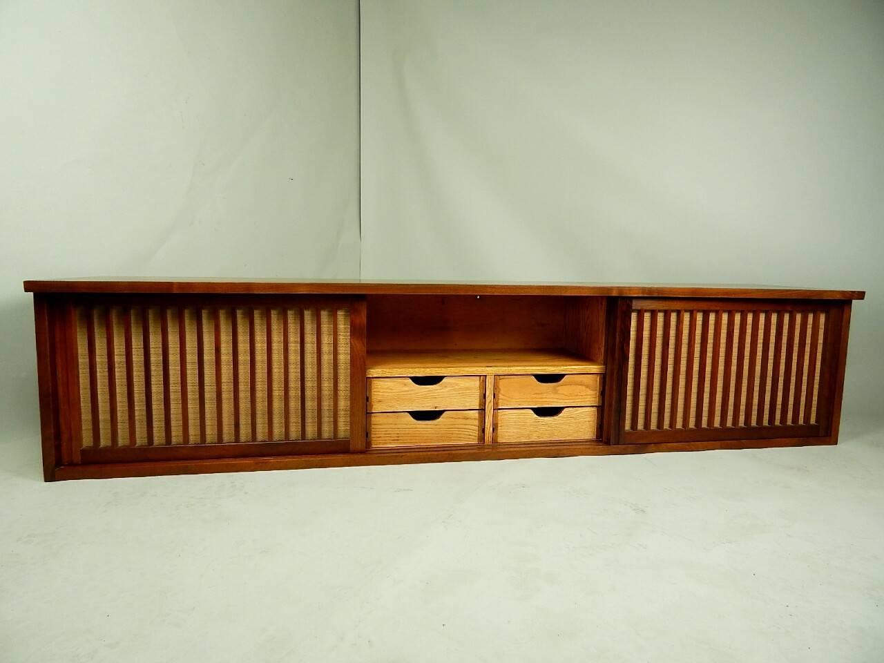20th Century Walnut Wall Cabinet by George Nakashima 5
