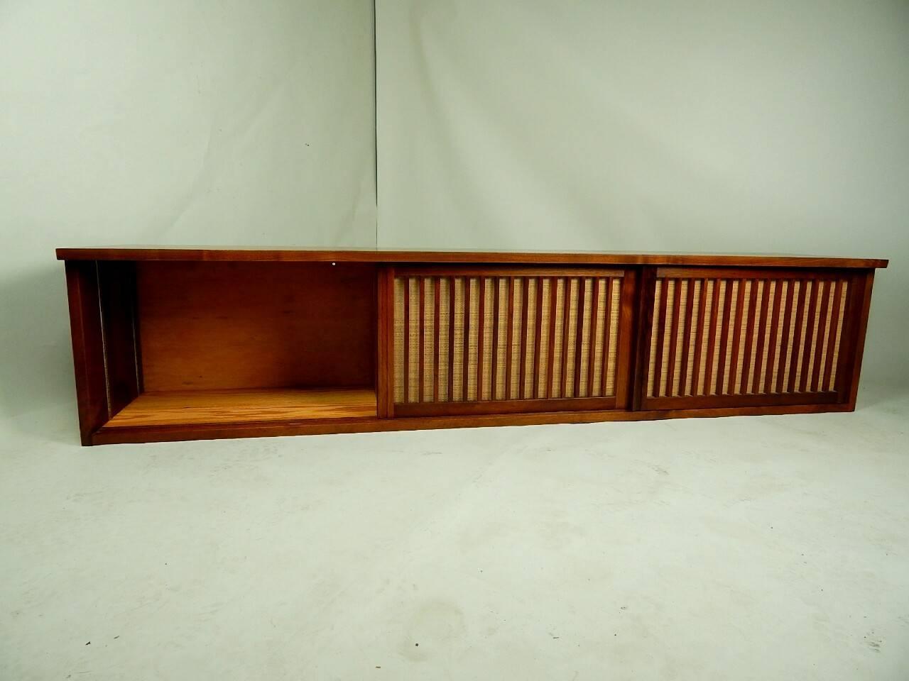 20th Century Walnut Wall Cabinet by George Nakashima 6