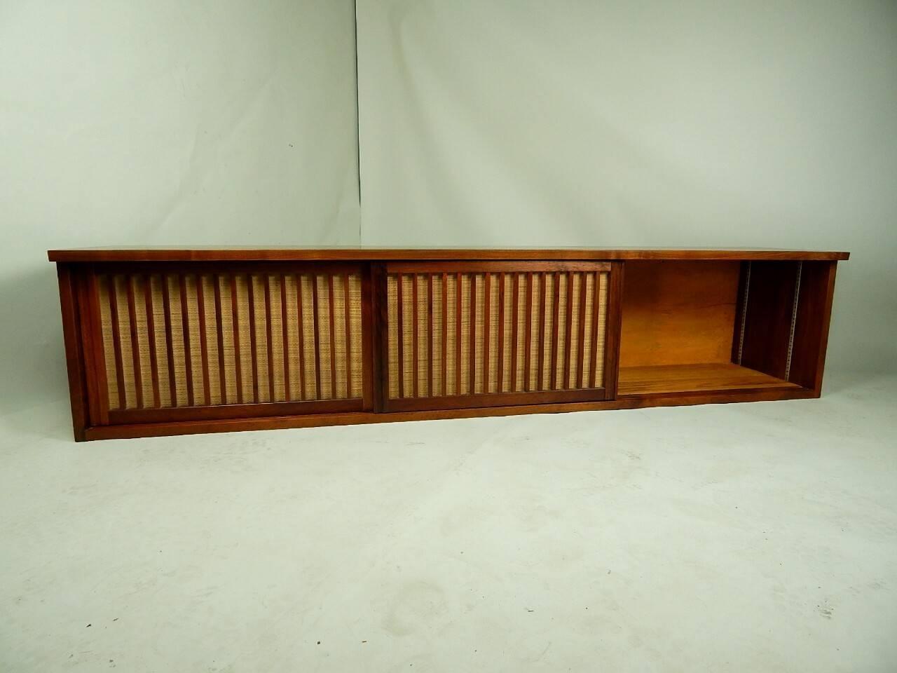 20th Century Walnut Wall Cabinet by George Nakashima 7