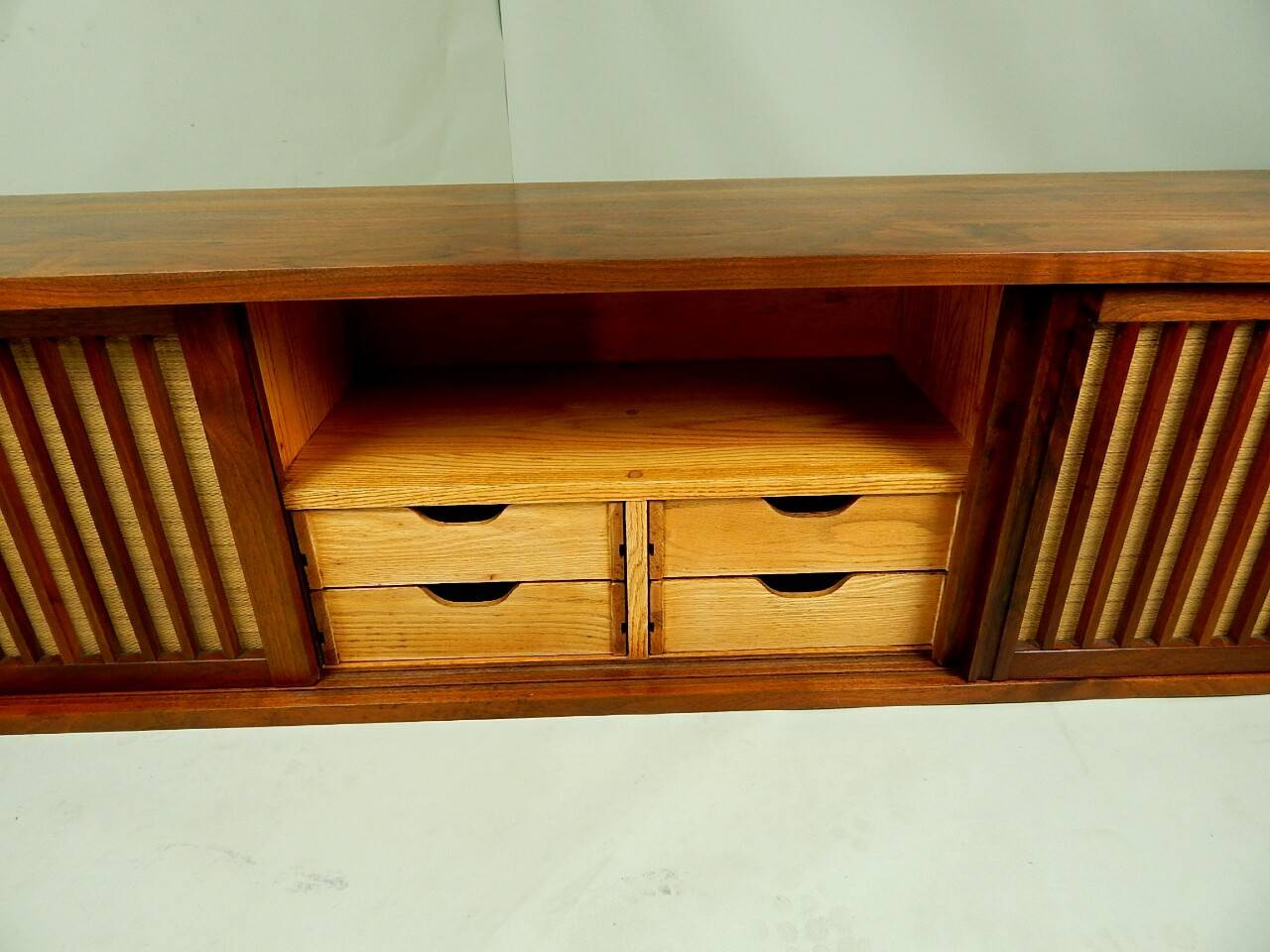 20th Century Walnut Wall Cabinet by George Nakashima For Sale 6
