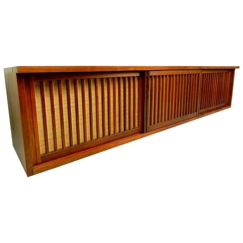20th Century Walnut Wall Cabinet by George Nakashima For Sale