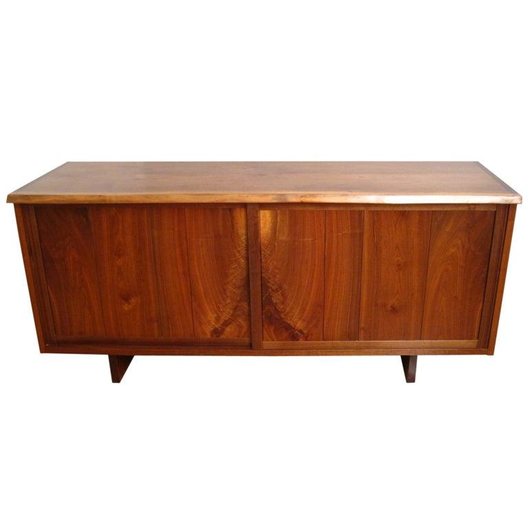 Walnut Floor Cabinet by George Nakashima