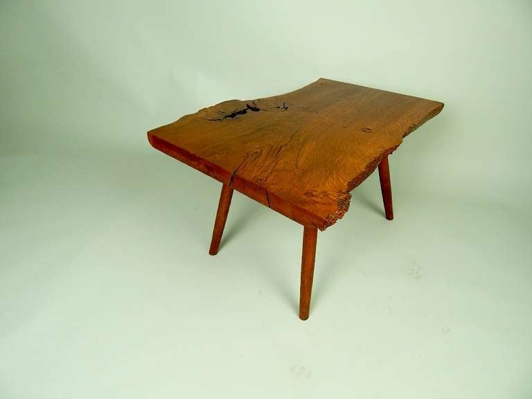 American Walnut Coffee Table by George Nakashima For Sale