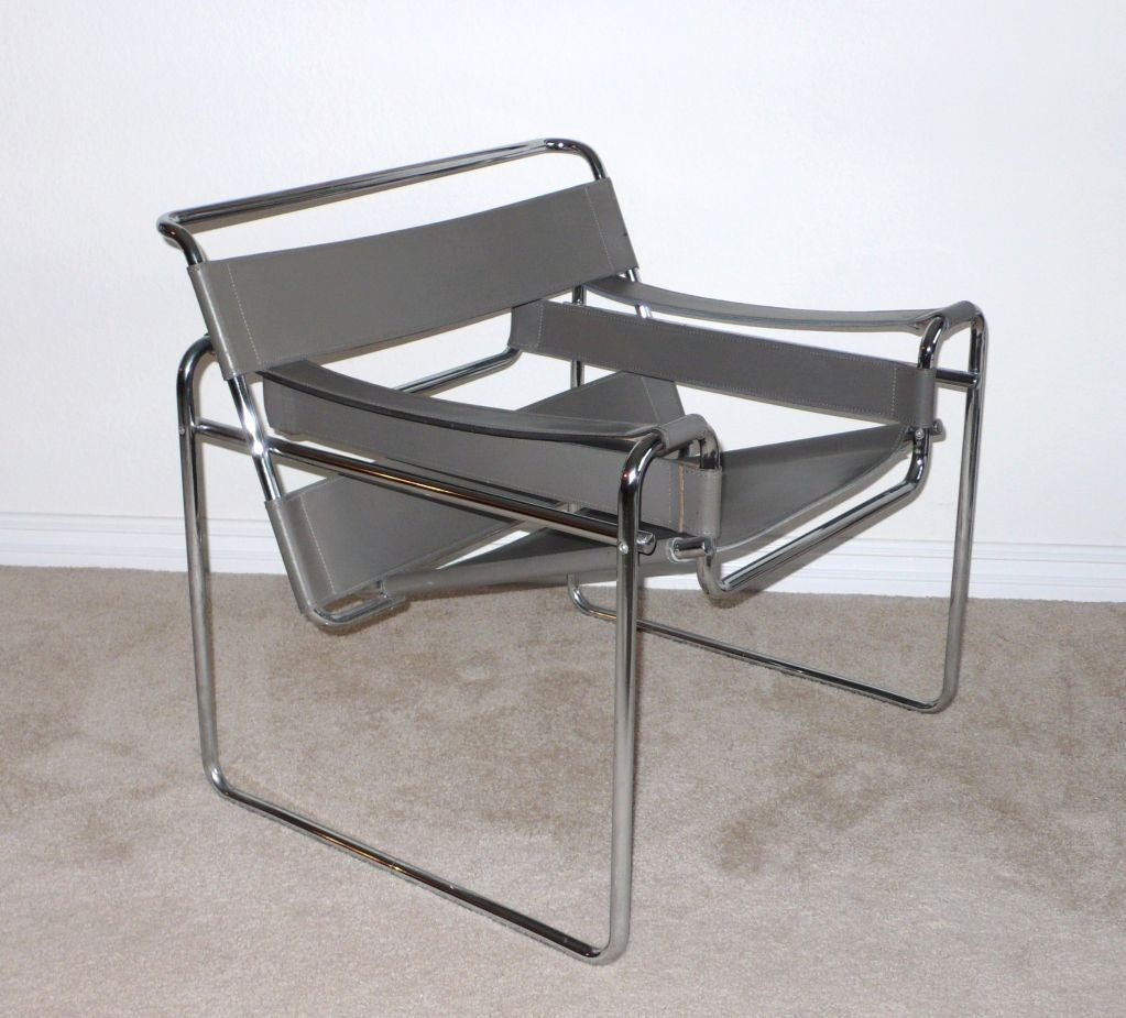 marcel breuer wassily chair circa 1950 1960 at 1stdibs. Black Bedroom Furniture Sets. Home Design Ideas