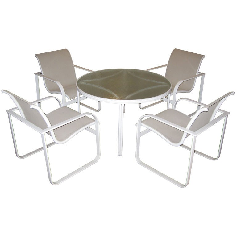 Final Offer Outdoor Patio Set By Brown Jordan At 1stdibs