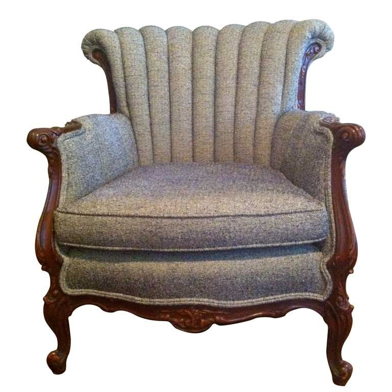 Neo Rococo Armchair 1930 1940 At 1stdibs