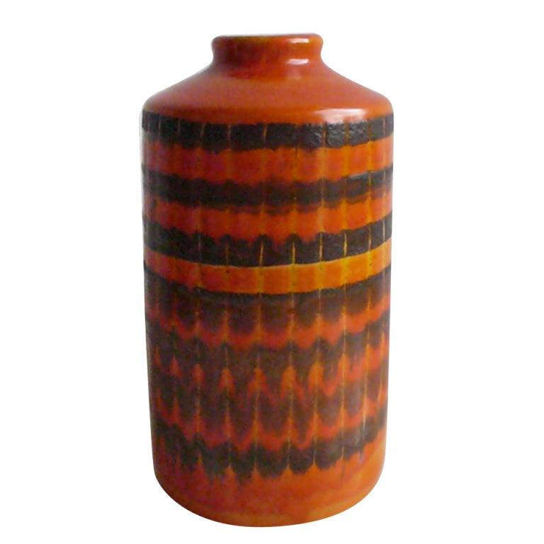 Mid Century Modern Ceramic Vase 1950s At 1stdibs