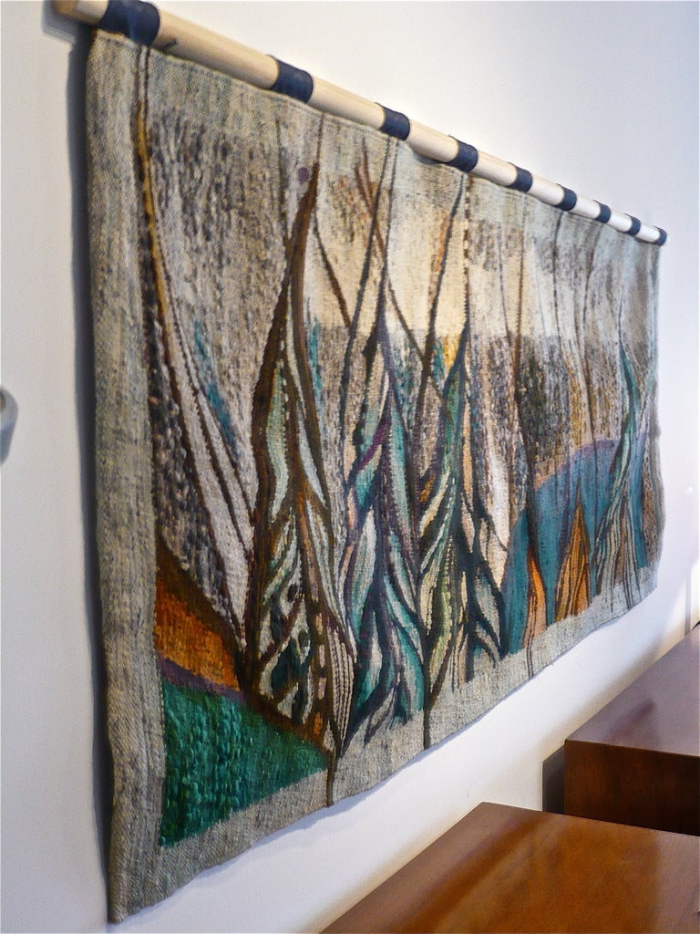 60 S Abstract Wool Tapestry At 1stdibs