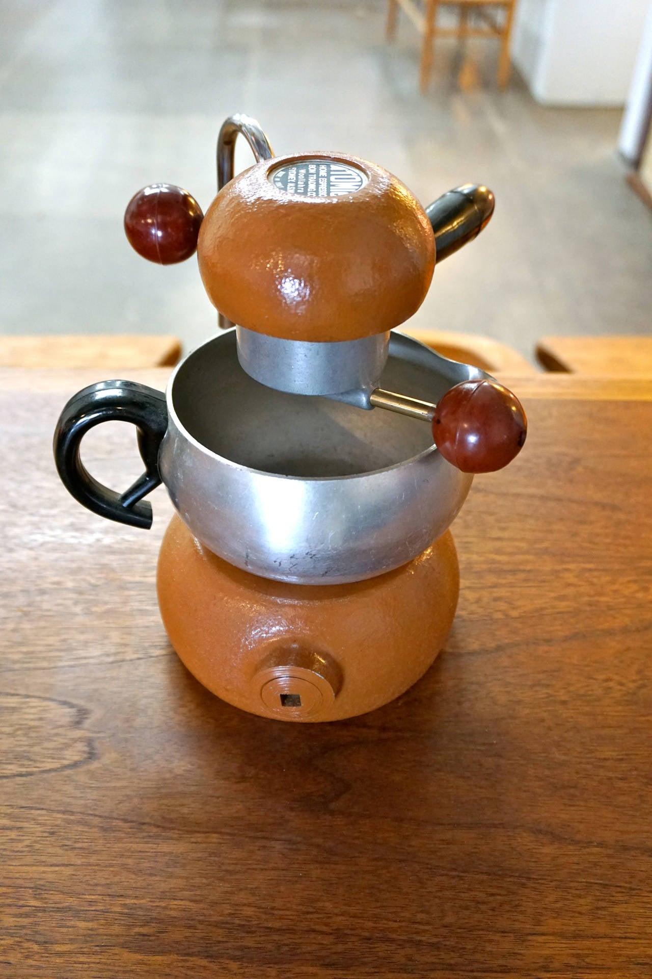 Atomic Coffee Maker How To Use : Atomic Brevetti Robbiati Espresso Maker at 1stdibs