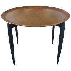Fritz Hansen Teak Side Table.