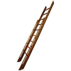 Beautifully Handcrafted Wooden Ladder