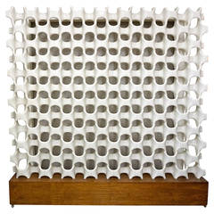 Architectural Screen or Room Divider by Don Harvey