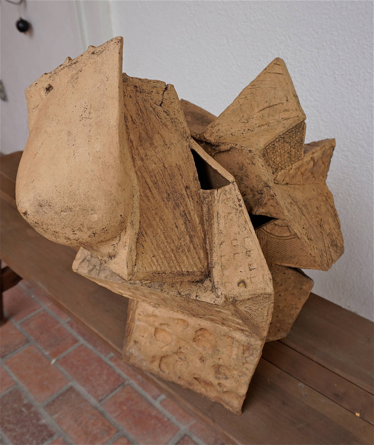Abstract Stoneware Sculpture 3