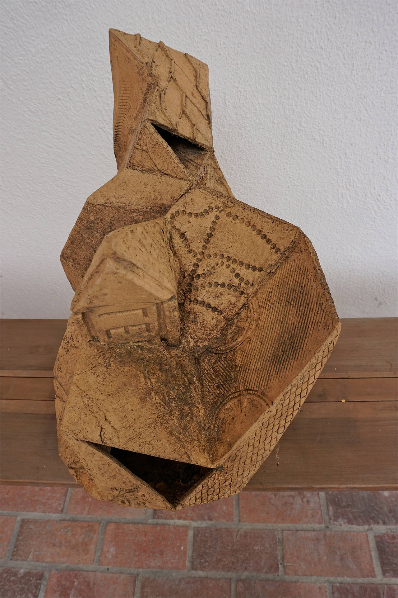 Abstract Stoneware Sculpture 6