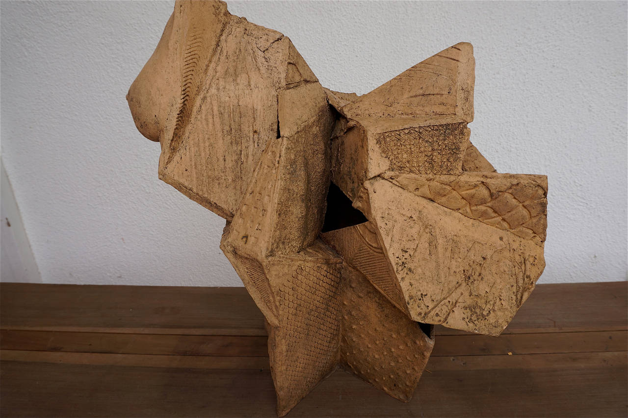 Abstract Stoneware Sculpture 7