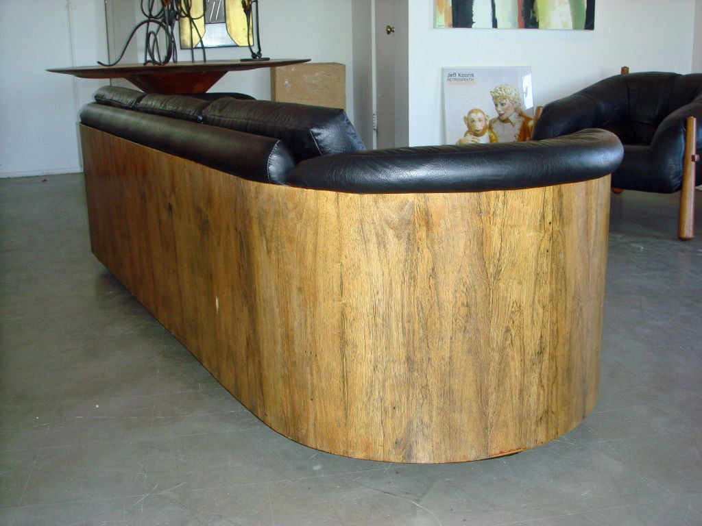 New Plywood Sofa Design : Rare Rosewood Molded Plywood Sofa by Plycraft at 1stdibs