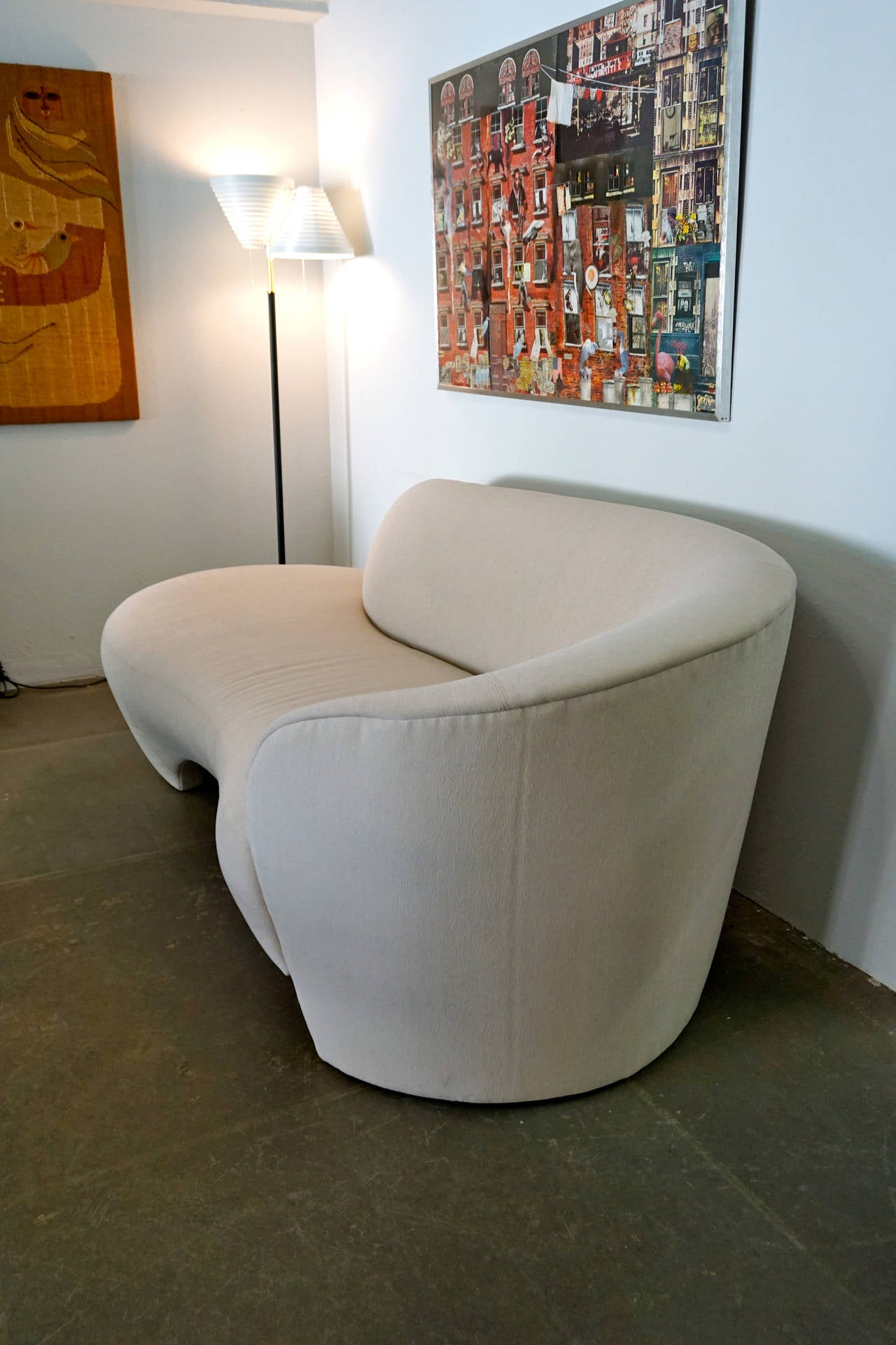 Serpentine Sofa By Vladimir Kagan At 1stdibs