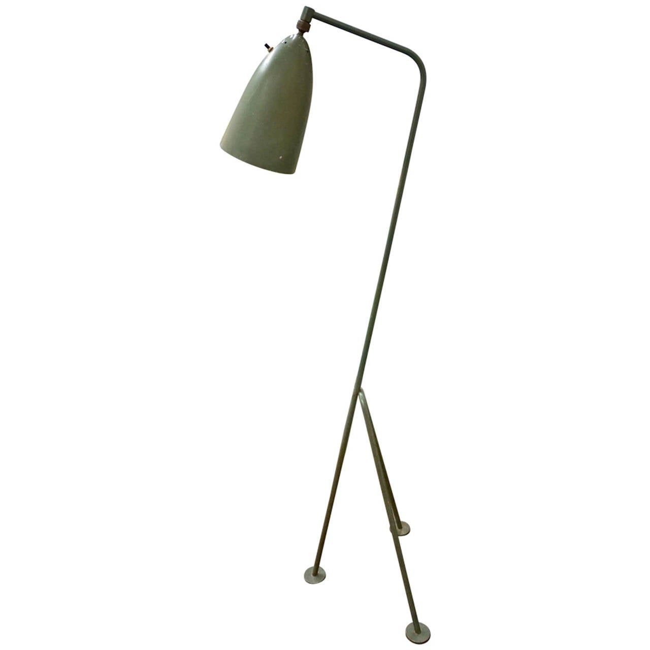 grasshopper lamp by greta magnusson grossman at 1stdibs. Black Bedroom Furniture Sets. Home Design Ideas
