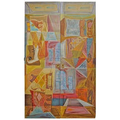 Surrealist Painted Panels by John Banting