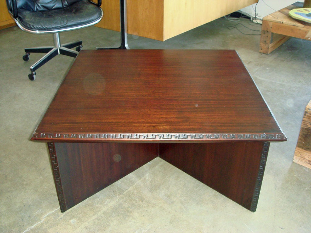 Frank Lloyd Wright For Heritage Henredon Coffee Table At 1stdibs