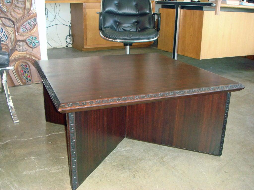 Frank Lloyd Wright For Heritage Henredon Coffee Table 3