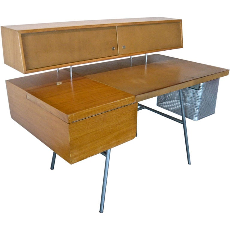 Home Office Desk George Nelson Herman Miller At 1stdibs