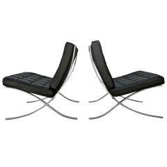 "Mies ""Barcelona"" Chairs for Knoll"