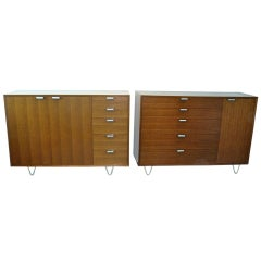 Pair of George Nelson/Herman Miller Dressers