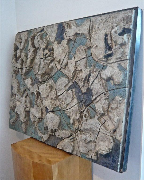 stan bitters low relief ceramic mural at 1stdibs. Black Bedroom Furniture Sets. Home Design Ideas