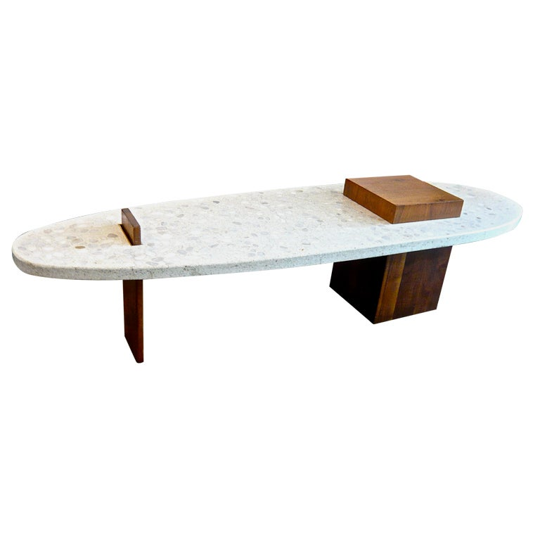 Harvey prober terrazzo coffee table at 1stdibs for Harveys coffee tables