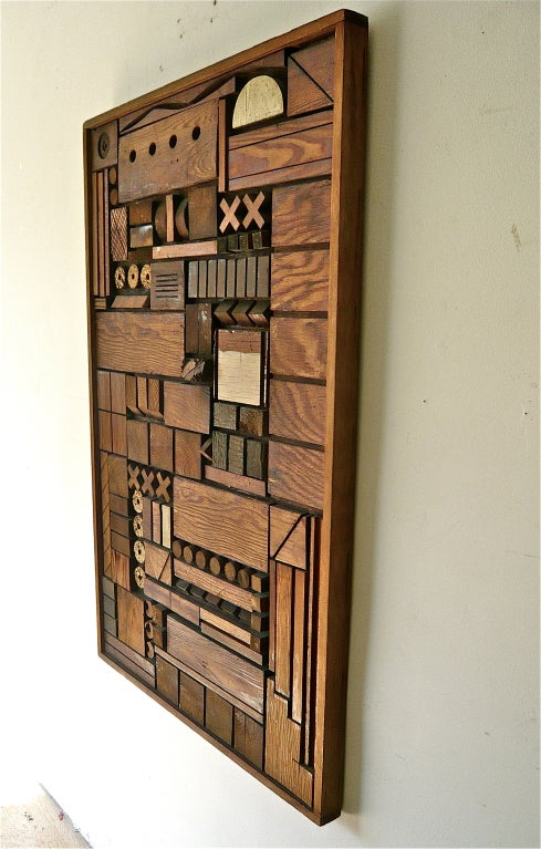 60 S Redwood Assemblage At 1stdibs