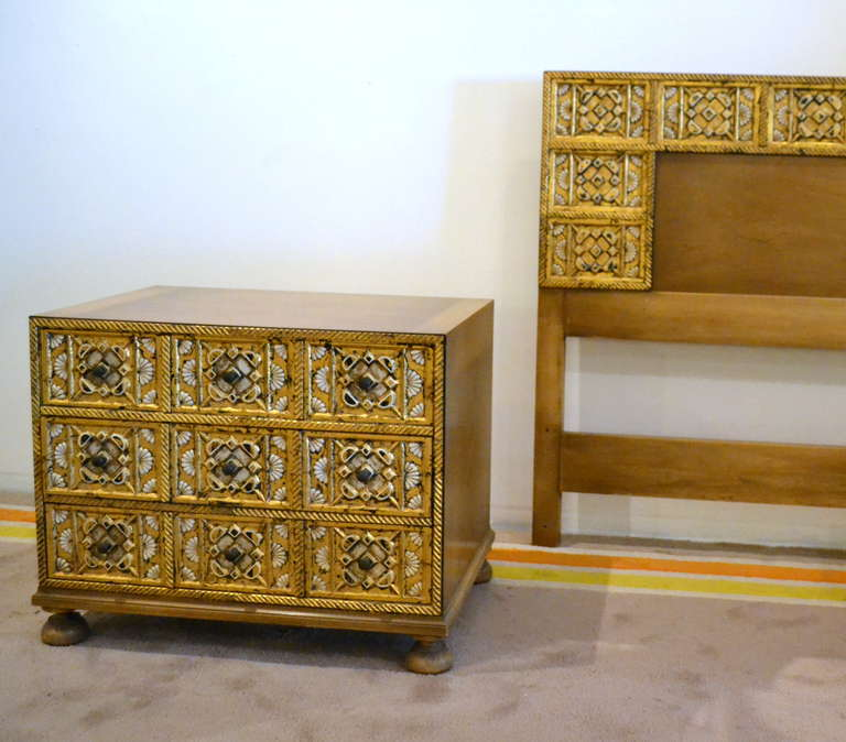 1960s John Widdicomb King Bedroom Set At 1stdibs
