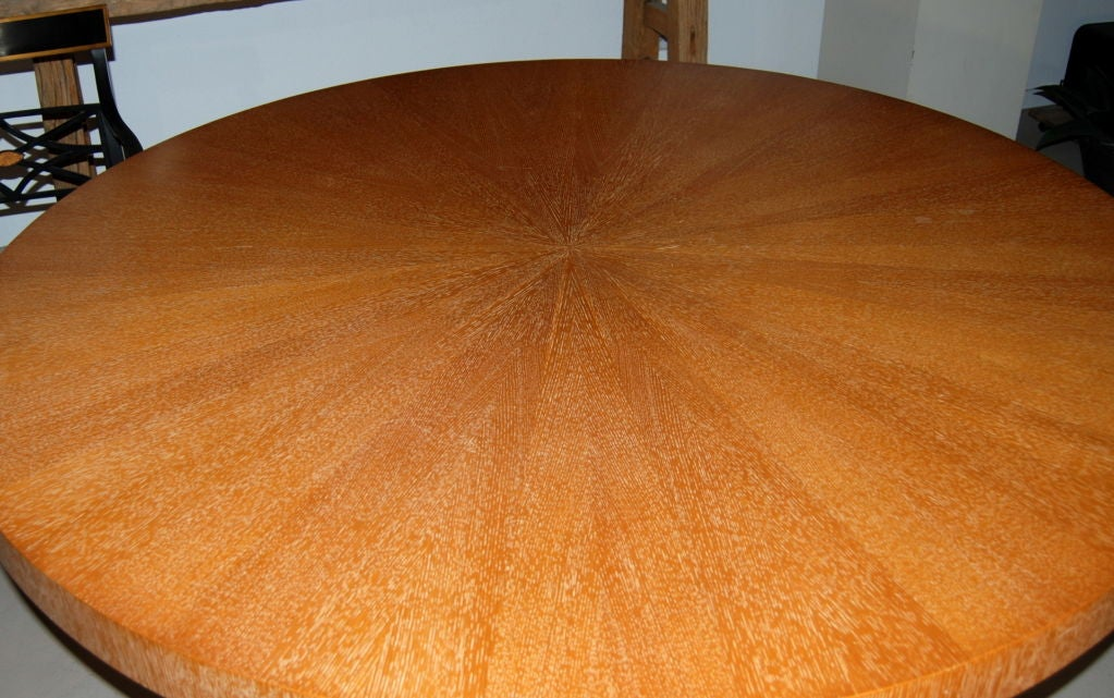 60quot Round Wood Dining Room Table at 1stdibs : 859212910843264 from www.1stdibs.com size 1023 x 641 jpeg 118kB
