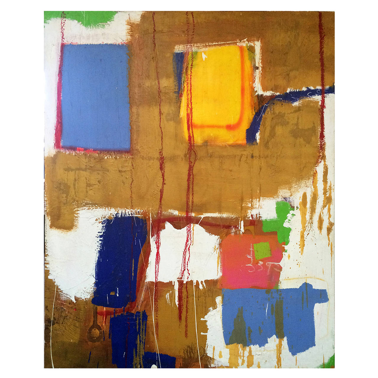 Colorful Abstract Painting by John Luckett