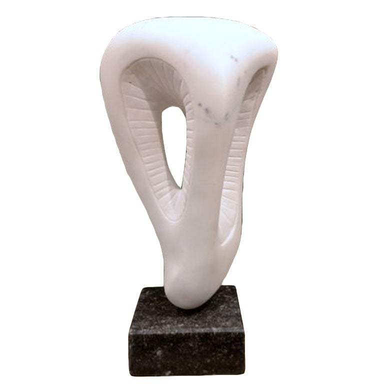 Abstract Marble Sculpture by Scott Donadio